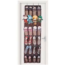 over the door organizer misue vinyl over door shoe organizer with 24 reinforced pockets