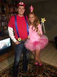 Halloween Costume Boo Monsters Inc Mario And Princess Peach Halloween Costume Idea Halloween