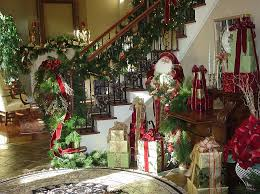 Christmas Banister Garland Ideas 23 Gorgeous Christmas Staircase Decorating Ideas