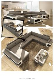 White Leather Sectional Sofa Best 25 White Leather Sectionals Ideas On Pinterest Leather