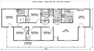 Wohndesign Dekorativ 5 Bedroom House Plans Manufactured Homes Rectangular House Plans 3 Bedroom 2 Bath