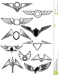 bentley logo vector heraldic emblems set stock vector image 46364887