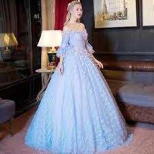 cinderella quinceanera dresses cinderella blue lace quinceanera dresses evening party gowns