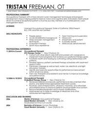Resume Examples For Physical Therapist by Good Resume Objectives For Barista Resume Template Pinterest