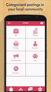 craigslist apk my circle craigslist local 0 1 40 apk android social apps