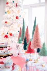 Blue Christmas Decorations Table by Best 25 Colorful Christmas Decorations Ideas On Pinterest