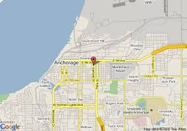 us map anchorage alaska map of travel inn anchorage