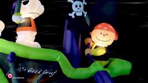 peanuts airblown inflatables gemmy peanuts animated airblown