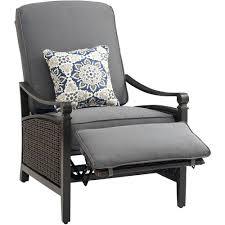 White Resin Wicker Loveseat 29 Resin Wicker Outdoor Recliner With Cushion Outdoor Wicker
