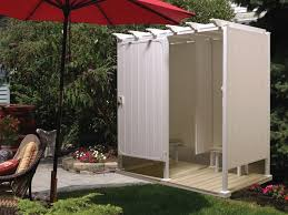 How To Build An Outdoor Shower Enclosure - exciting shower stall kits for bathroom decoration ideas cool