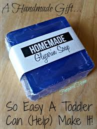 pinspired home glycerin soaps so easy a toddler can help make it