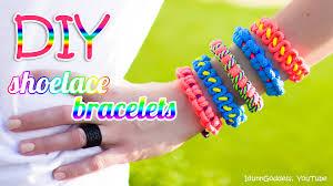 diy make bracelet images 3 diy shoelace bracelets how to make a bracelet out of a jpg