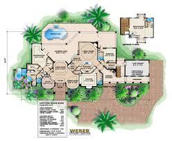 santorini manor home plan weber design group naples fl