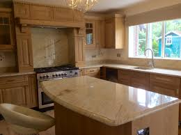 Bungalow Kitchen Ideas by Ivory Cream Shivakashi Cream Granite Worktops Fitted Today
