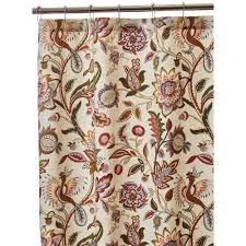 Brown Waffle Weave Shower Curtain by Cotton Shower Curtains Shower Accessories The Home Depot
