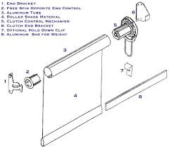 How To Install Hold Down Brackets For Blinds Buy Rite Blinds Large Clutch Roller Shades Installation Best