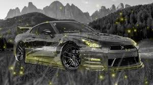 Nissan Gtr Yellow - nissan gtr r35 jdm crystal nature car 2015 el tony