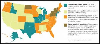 100 ideas map of homeschooling states on emergingartspdx com