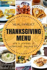 real food gluten free thanksgiving menu with shopping list