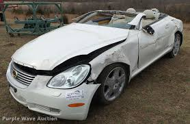 lexus sc430 white for sale 2004 lexus sc430 convertible item da2542 sold march 29
