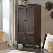Sauder Shoal Creek Armoire Harbor View Armoire Salt Oak Hayneedle