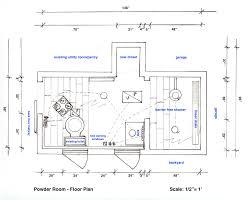 powder room floor plans powder room expansion project atticmag