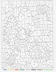 hard color by number worksheets free coloring pages on art