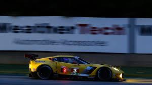 imsa corvette corvette racing finishes second wins imsa gtlm class chionship