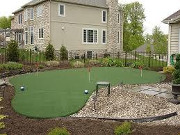 Backyard Putting Green Designs by 16 Best Putting Green Images On Pinterest Backyard Ideas