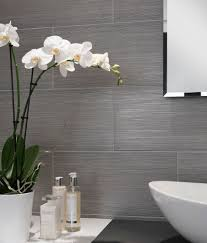 Gray Tile Bathroom Ideas Mokara Grey Tile Topps Tiles Down Stairshower Room