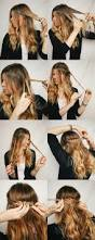 Easy Hairstyle For Wavy Hair by Best 25 Fast Easy Hairstyles Ideas On Pinterest Fast Hairstyles