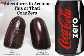 this or that opi vs nicole by opi coca cola adventures in acetone
