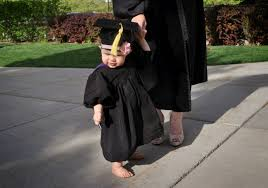baby graduation cap and gown h m graduation weekend