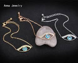 fashion evil eye bracelet images Classic fashion designer evil eye bracelet stainless steel jpg
