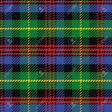 Muster Blau Grün Vektor Nahtlose Muster Schottischen Tartan Black Schwarz