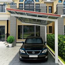 china y shape polycarbonate roof carport for car parking china