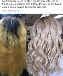 redken strawberry blonde hair color formulas redken shades eq 09p trial before after youtube hair