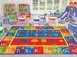 Abc Area Rugs Play Mat Alphabet Abc Numbers Shapes Educational Large Area