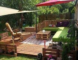 yoga holz deck outdoor pallet furniture ideas upcycled sofa diy