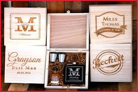 wedding gift etsy etsy wedding gift 165237 groomsmen gift box flask gift box