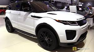land rover hse white 2016 range rover evoque hse dynamic exterior and interior
