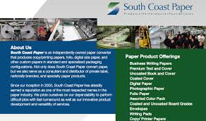 writing printing paper south coast paper official black wall street
