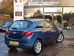 vauxhall corsa used 2015 vauxhall corsa excite ac 3dr one owner nice spec for