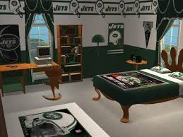 mod the sims ny jets football bedroom requested