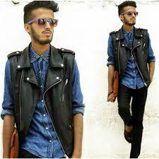 biker waistcoat zara man bnwt authentic black faux leather biker vest waistcoat