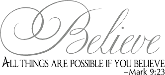 religious wall quotes vinyl wall decals all things are possible