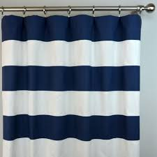 Walmart Navy Blue Curtains by Coffee Tables Nautical Stripe Shower Curtain Navy And Yellow