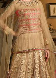 buy beige cape style umbrella lehenga choli umbrella lehenga