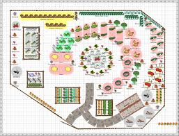 Companion Gardening Layout by Planning A Vegetable Garden Layout Plans And Spacing With Raised