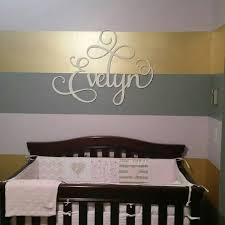 lettres pour chambre bébé signe de nom de crèche pour bébé lettres pour chambre de chambre